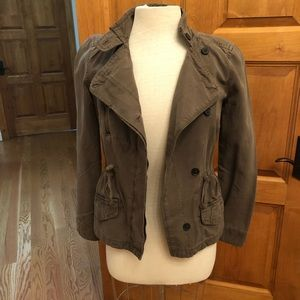 Army green jacket size xs